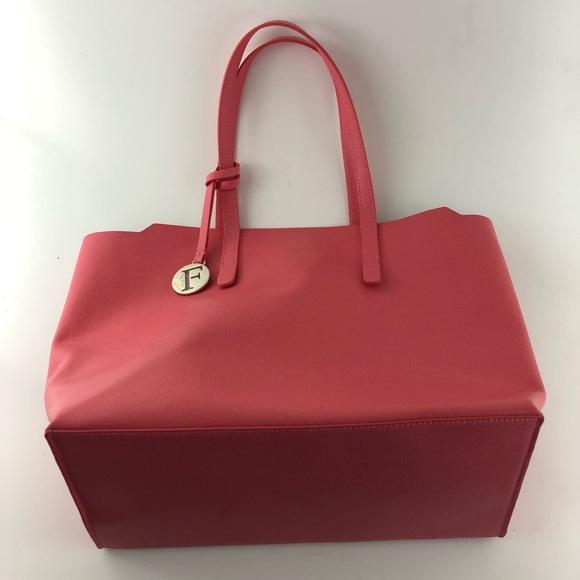 79bd97cbeeb Furla Bags   Sally Coated Saffiano Leather Tote Bag   Poshmark